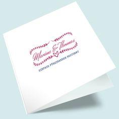 Hochzeitseinladungen: Wir beide Beide, Place Cards, Place Card Holders, Beautiful, Designs, Invites Wedding, Card Wedding, Creative