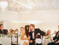 Burgundy, Black, & White Wedding in San Clemente