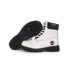 Botas Timberland Mujeres Timberland 6 Inch Boots white/black (285 BRL) ❤ liked on Polyvore featuring shoes, boots, botas, timberland, timberland shoes, timberland boots, white black shoes, timberland footwear and white and black boots
