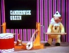Camberwick Green and Trumpton. Brian Cant was the narrator.