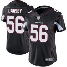 Women's Nike Arizona Cardinals #56 Karlos Dansby Limited Black Alternate NFL Jersey