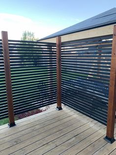 Privacy Wall Outdoor, Hot Tub Privacy, Privacy Walls, Backyard Privacy, Backyard Fences, Backyard Landscaping, Porch Privacy, Privacy Screen Deck, Patio Fence
