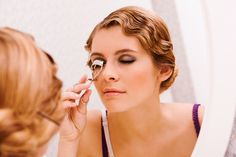 For curlier lashes,heat your lash curler with a hair dryer for five to eight seconds before curling them.