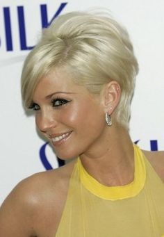 Oh I love this cute short hair cut...