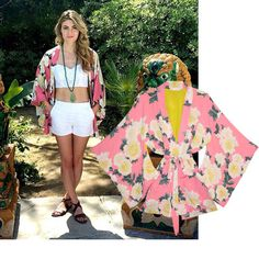 @megan_bazaar Fleur Du Mal kimono, $525, shopBAZAAR.com.    - HarpersBAZAAR.com
