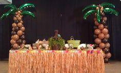 Luau Palm Tree Balloons