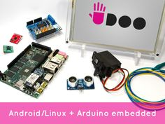 $149   LIVE till Jun 8, 2013 currently $491,947 funded  by 3289 backers   UDOO: Android Linux Arduino in a tiny single-board computer by UDOO — Kickstarter