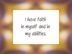 Daily Affirmation for April 16, 2014