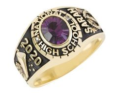 """Small """"Affinitor"""" Class Ring for Homeschooled Girl is our most popular ring"""