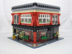 The Red Brick Pizza Oven (2014) - Godwins Hollow: A LEGO® creation by Stewart & Sydney Godwin : MOCpages.com