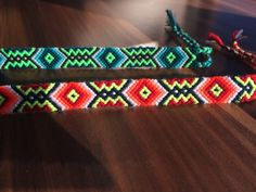 Friendship bracelet-Handmade-Aztec-XOXO-Pattern-Woven-Knotted-Braided-Wrap bracelets-Friend Gift-Love-Best friend-Jewelry-Spring gifts-Blue
