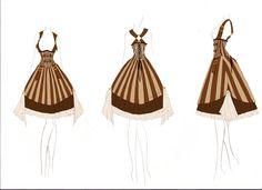 +Steampunk Lolita Design+ by DeadlyDie.deviantart.com on @deviantART