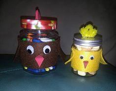 Gennt / recyklujem - nádoby - kuriatko a sliepočka