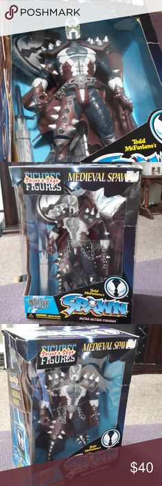 SPAWN Weapon Ninja Spawn Gun McFarlane 1997 Original Figure Accessory