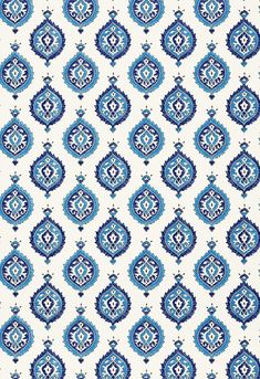 Martyn Lawrence Bullard for Schumacher Wallpaper Taj Trellis in Jaipur Blue Peacock Wallpaper, Wallpaper Roll, Pattern Wallpaper, Print Wallpaper, Pattern Art, Pattern Design, Peacock Pattern, Vector Pattern, Islamic Art