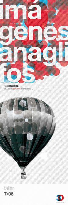 3D Cinema - Graphic Design, Branding by Natacha Forciniti, via Behance