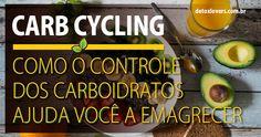 Com o Carb Cycling você vai emagrecer, controlando o seu consumo de carboidratos, para maximizar o crescimento muscular e a queima de gordura.