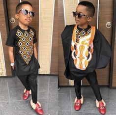 48 Edition of – Shop These New Aso ebi Lace style & African Print Trend For Kids Diyanu - Aso Ebi Styles Baby African Clothes, African Dresses For Kids, African Attire For Men, African Clothing For Men, African Shirts, Latest African Fashion Dresses, African Print Fashion, African Wear, African Kids