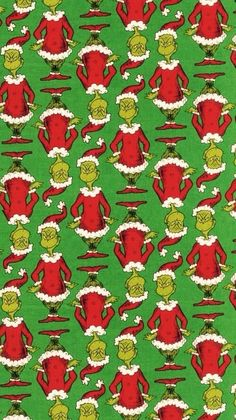 Grinch Christmas movie iphone wallpaper poster