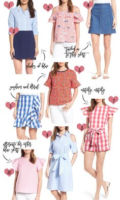 Red White and Blue Style | Outfit Inspiration | 4th of July Outfit Ideas