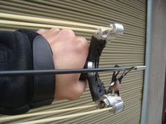 sling shot with arrows