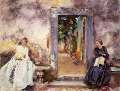John Singer Sargent  - The Garden Wall