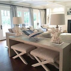 Cozy Living Rooms, Home Living Room, Narrow Living Room, Apartment Living, Living Area, Elegant Living Room, Living Room Seating, Living Room With Chairs, How To Decorate Small Living Room