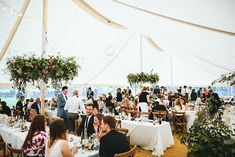 At Home Greenery Filled Marquee Wedding in Yorkshire | Craig Williams Photography