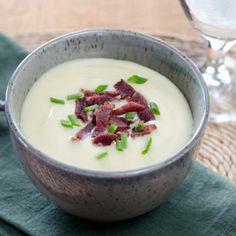 Easy Gluten-Free Cauliflower Celeriac Soup