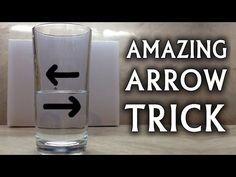 Reversing Arrow Illusion   The Kid Should See This / Esperimento di ottica: la freccia cambia orientamento