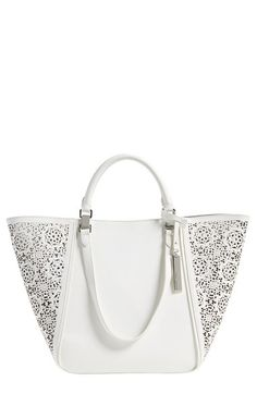Vince Camuto 'Tylee' Perforated Tote available at #Nordstrom $278