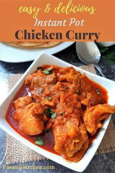 Instant Pot Chicken Curry | Indian Chicken Curry - Pavanis Kitchen