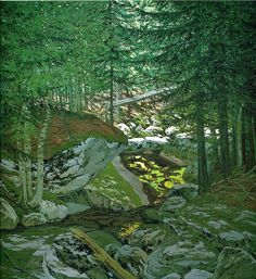 Neil Welliver - Flotsam from the Allagash