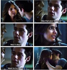 Smh...Stiles, Stiles, Stiles, STILES!! You're killing me this year! Among all your delicious terrifying darkness emerges the sweetest, most romantic moment out of nowhere. This might be my favorite scene from Teen Wolf ever.