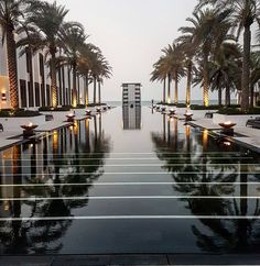 The Chedi Muscat, Oman © Nedzad Hujdurovic The Chedi Muscat, Hotels, Red Sea, Middle East, Travelling, Landscaping, Paradise, Places, Architecture