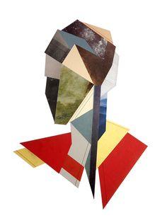 'Andromeda' - Collage on paper - Strook.eu