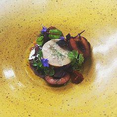 Foie gras cherries Tarragon shoot boss #microgreens @redstonewinery @dsider87 by shoot_boss