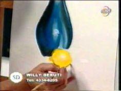 Willy Beruti enseña a pintar un jarron - part 2 de 2.flv