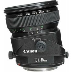 Canon TS-E 45mm f/2.8 Manual Lens, USA 2536A004 - $1,300 new at BH...would be great to rent one of these.