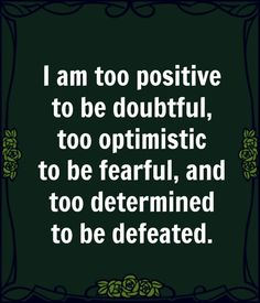 Think positive thoughts! Great Quotes, Quotes To Live By, Me Quotes, Motivational Quotes, Inspirational Quotes, The Words, Cool Words, Think, Positive Affirmations