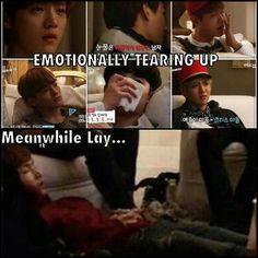 LOL Lay, so adorable <3 Episode 4 was sooo good!!!!