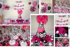 Zebra print themed birthday party.  Yup it's that time again :-)