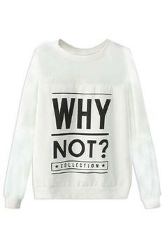 Why Not Chiffon Paneled Sweatshirt