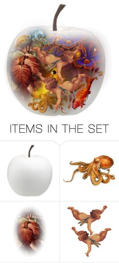 """""""Apple For My Eye"""" by giovanina-001 ❤ liked on Polyvore featuring art"""
