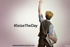 Newsies 'Seize the Day'!