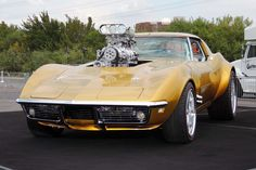 Gas Monkey Garage's Hot Wheels Corvette.