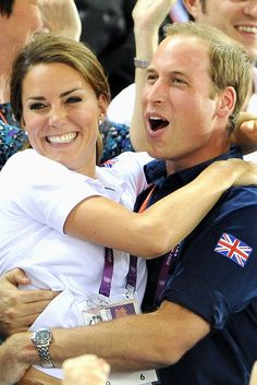 The cuteness that is Kate & William