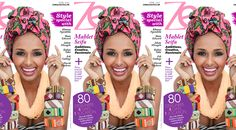 Samantha Clarke Photography's photo of Ethipian Model Mahlet Seifu on the cover of Zen Magazine' April Issue.