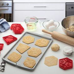 """thelosersshoppingguide: """" Critical Hit Cookie Cutters """""""