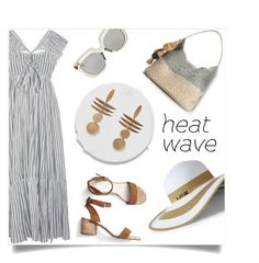 """""""breezing through"""" by collagette ❤ liked on Polyvore featuring Ulla Johnson, Linda Farrow, SONOMA Goods for Life, Lands' End, Gap and heatwave"""